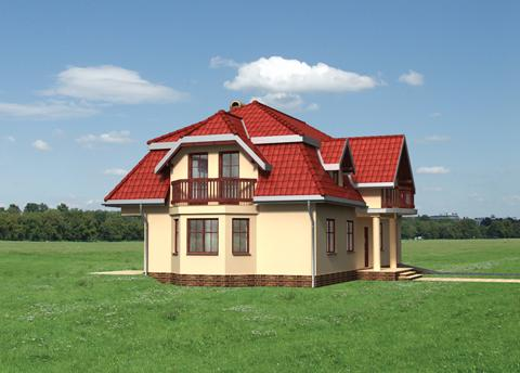 Проект домa Баркентина