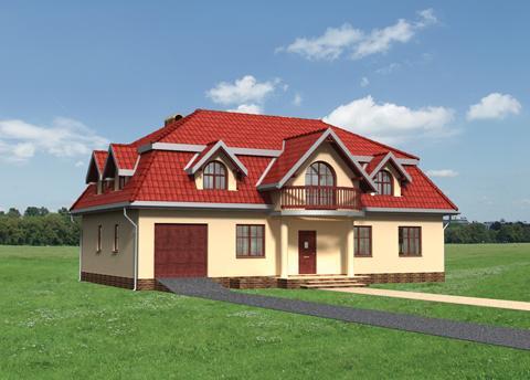 Projekt domu Barkentyna