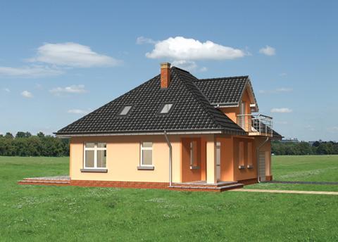Projekt domu Benon-2