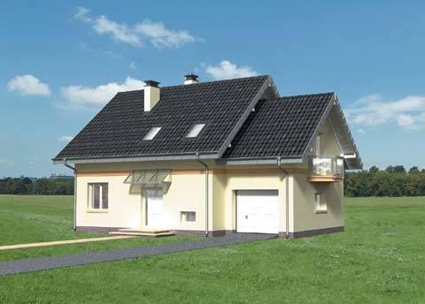 Projekt domu Bera