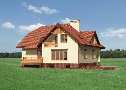 Projekt domu Berberys