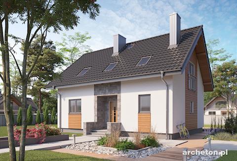 Projekt domu Berta