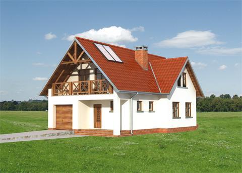 Projekt domu Beryl