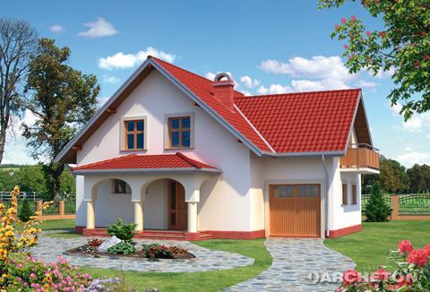Projekt domu Bianka