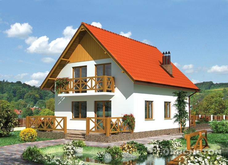 Apxetoh - проект дома бегония.