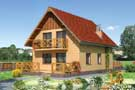 Projekt domu Biedronka