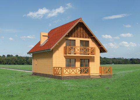 Проект домa Бегония