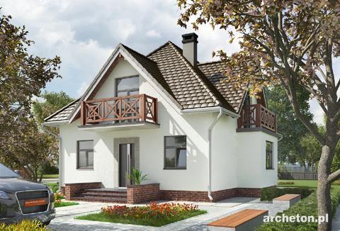 Projekt domu Birkut