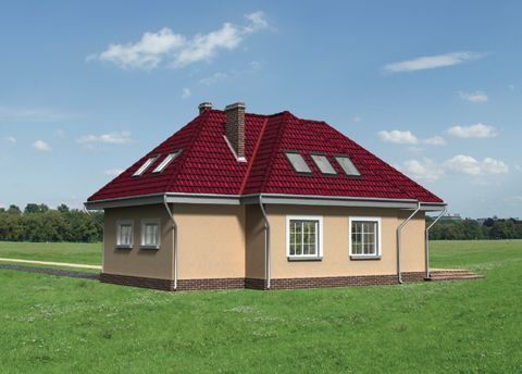 Projekt domu Bóbr