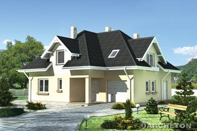 Projekt domu Bogna
