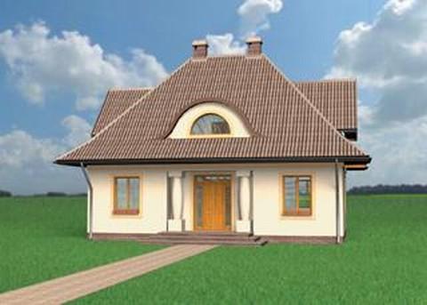 Projekt domu Bogoria