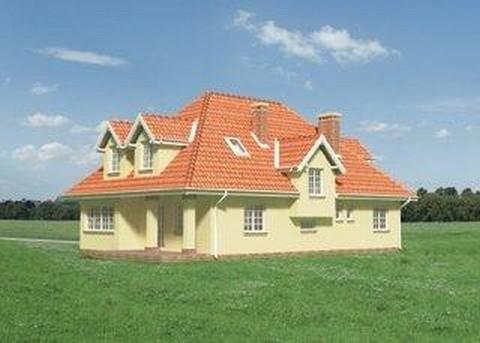 Projekt domu Bogumił