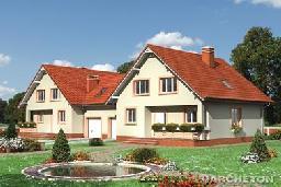Projekt domu Borówka Duo