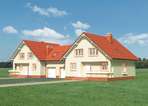 Проект домa Черника Дуо