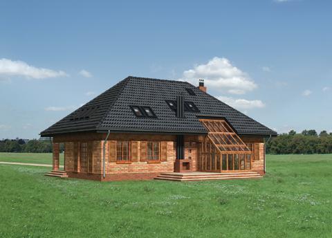 Projekt domu Boryna