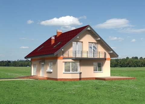Projekt domu Bromba
