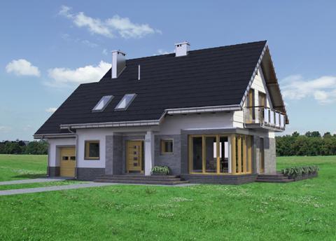 Projekt domu Bruno Rex