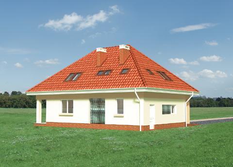 Projekt domu Bryza