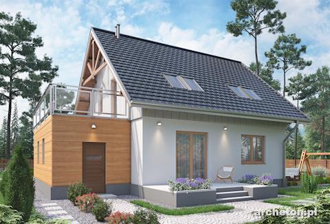 Projekt domu Brzask