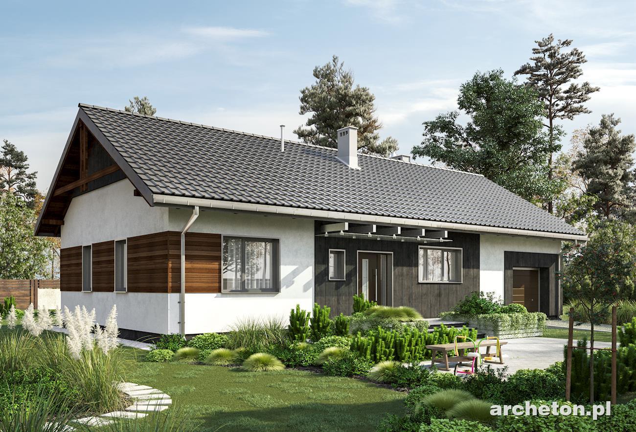 Projekt Domu Bytomir Funkcjonalny Dom Parterowy Pokryty Dachem