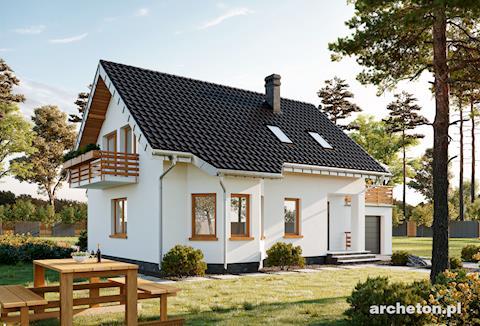 Projekt domu Calineczka-2