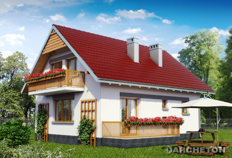 Projekt domu calineczka