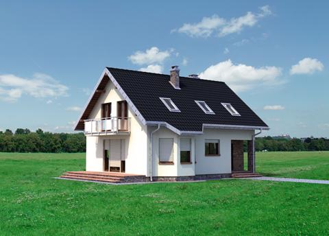 Projekt domu Calineczka Rex