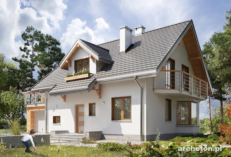 Projekt domu Celesta-2 - wymarzony dom dla 5 osobowej rodziny