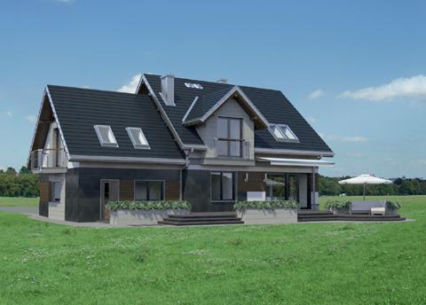 Projekt domu Celesta Hera G2