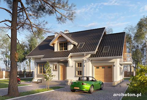 Projekt domu Celesta Prima Lux