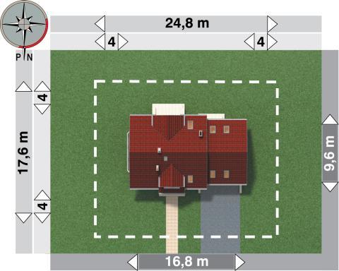 Projekt domu Celesta Rex G2
