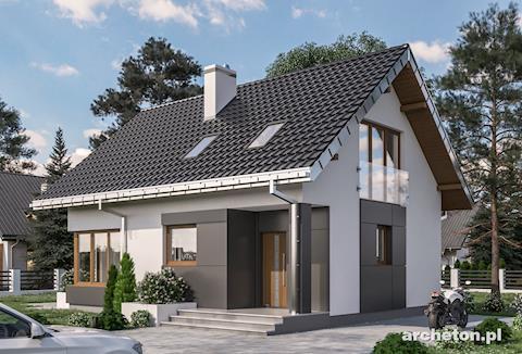 Projekt domu Celia