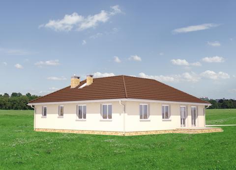 Projekt domu Cetyniec
