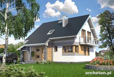 Projekt domu Chaber