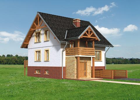 Projekt domu Cis