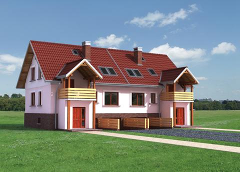 Projekt domu Cis Duo