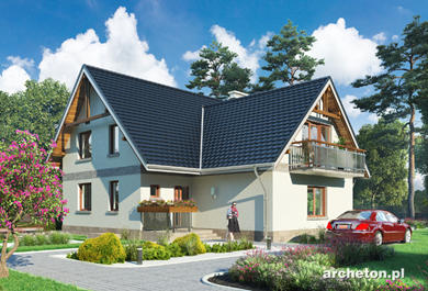 Projekt domu Cykada