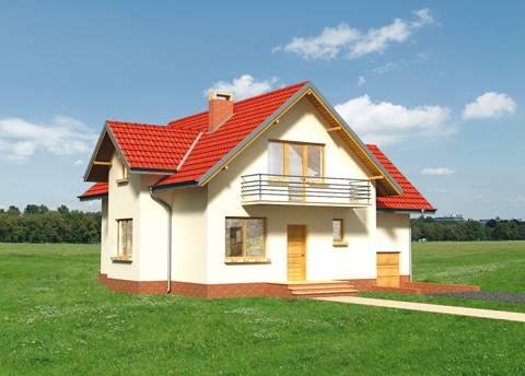 Projekt domu Cyklamen