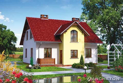 Projekt domu Cymelia