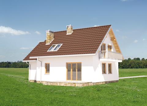 Projekt domu Czaruś
