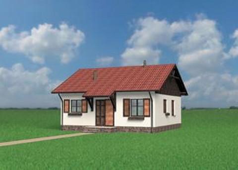 Projekt domu Czyżyk