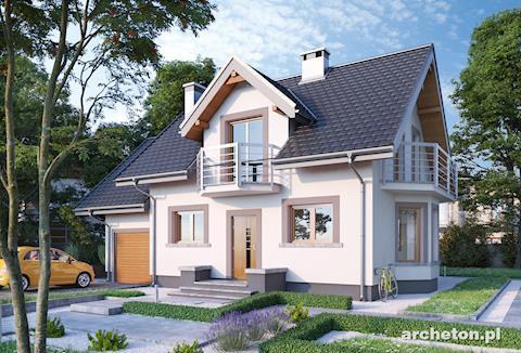 Готвые проекты домов с мансардой