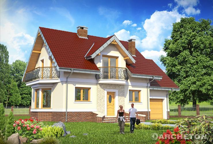 Projekt domu Dario As