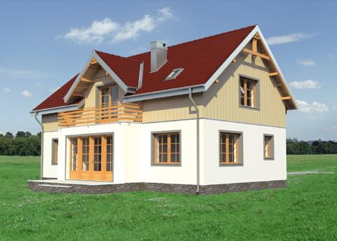 Projekt domu Derkacz