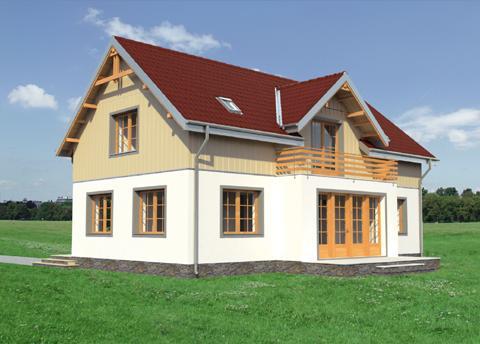 Проект домa Дергач