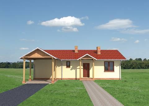 Projekt domu Domino