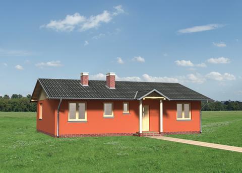 Projekt domu Domino-2
