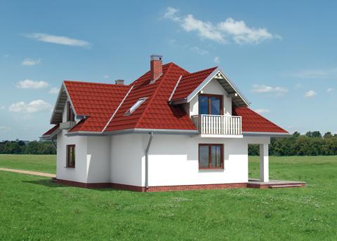 Projekt domu Donata