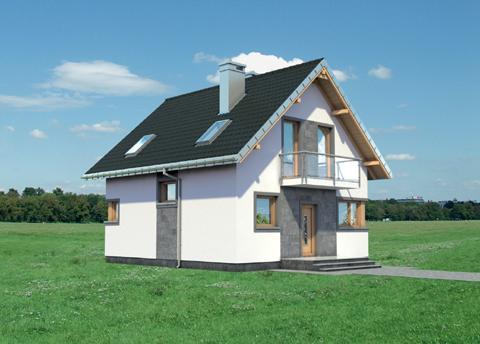 Projekt domu Dorian
