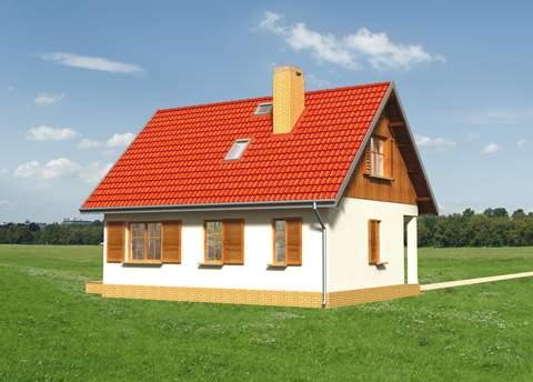 Projekt domu Drobina